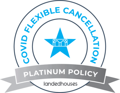 Landed Houses COVID Platinum Badge