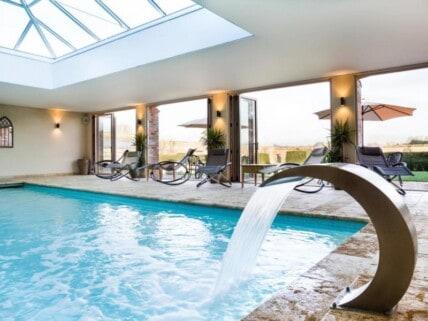 The indoor pool at North Cadbury Court