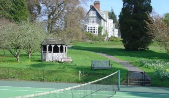Plas Dinam Tennis Court