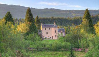 Duchray Castle in Scotland